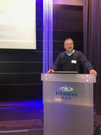 Administrerende direktør i Skagerak Varme, Morten Rogn. FOTO: ARE VEGAR HANSEN.