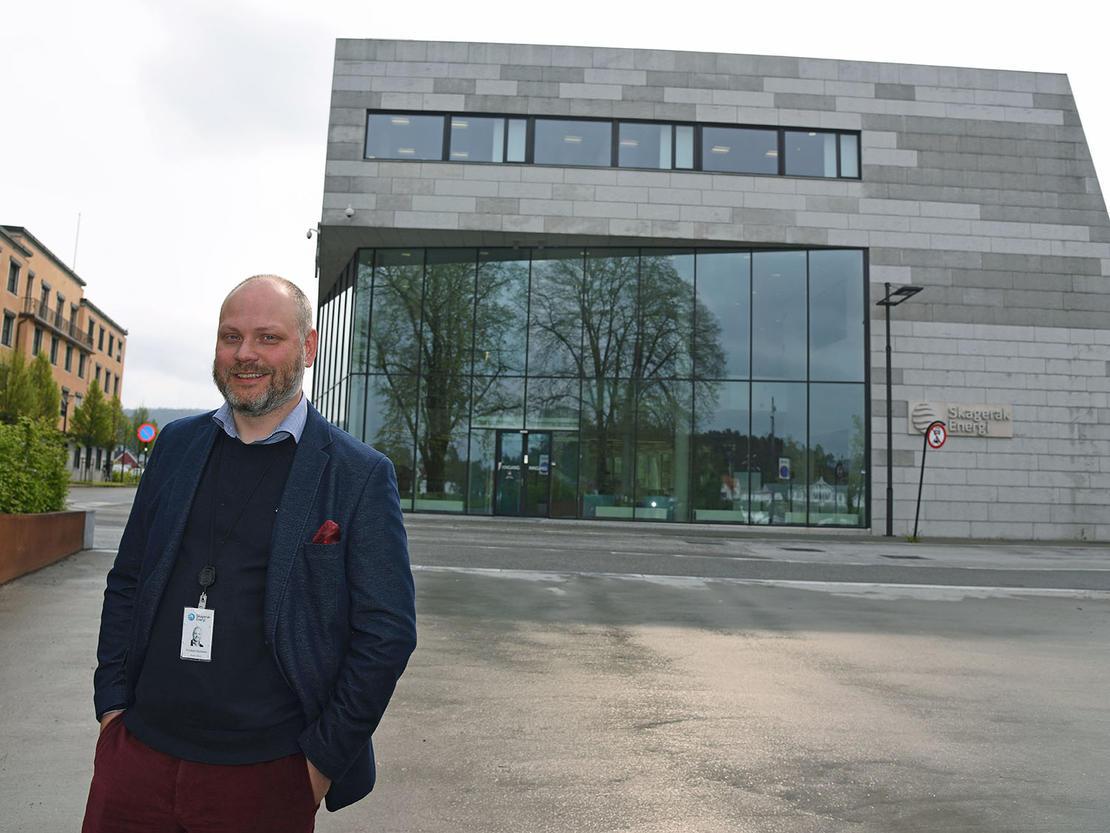 STØTTER GJERPEN: Med økonomisk støtte ønsker Skagerak Energi å hjelpe Gjerpen tilbake i toppen av norsk håndball.  FOTO: Bjørn Harry Schønhaug