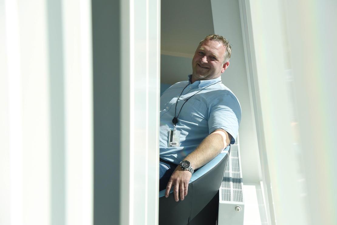 UTFORDRINGER: Administrerende direktør Morten Rogn i Skagerak Varme sier det er mange utfordringer i bransjen, men i fjor var selskapet det av de store norske fjernvarmeselskapene som hadde den største prosentvise økningen. Foto: BJØRN HARRY SCHØNHAUG