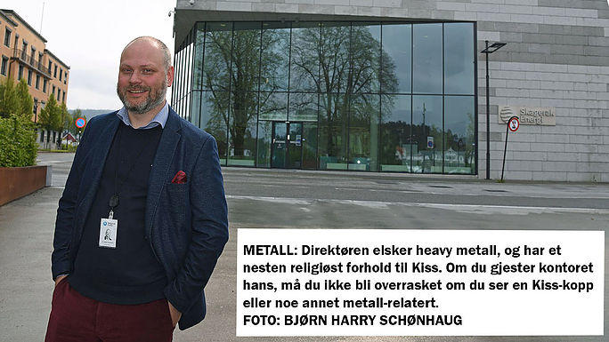 GRØNN: Som konserndirektør i Skagerak skal Kristian Norheim lede an og sørge for at konsernet får en ledende og viktig stemme når det kommer til det grønne skiftet. FOTO: BJØRN HARRY SCHØNHAUG