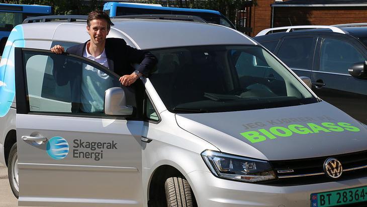 Frode Halvorsen i Skagerak Naturgass ser lyst på framtiden med ny, solid eier i førersetet. FOTO: KJELL LØYLAND