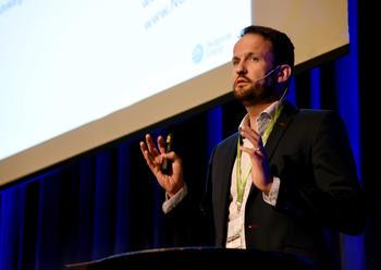 VIKTIG ROLLE: Økonomisjef Kjetil Dahl i Skagerak Naturgass sier at Skagerak har en viktig stemme og rolle i biogassbransjen i Norge.FOTO: BJØRN HARRY SCHØNHAUG