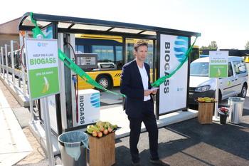 Biogassåpning