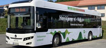 Bilde av elbuss